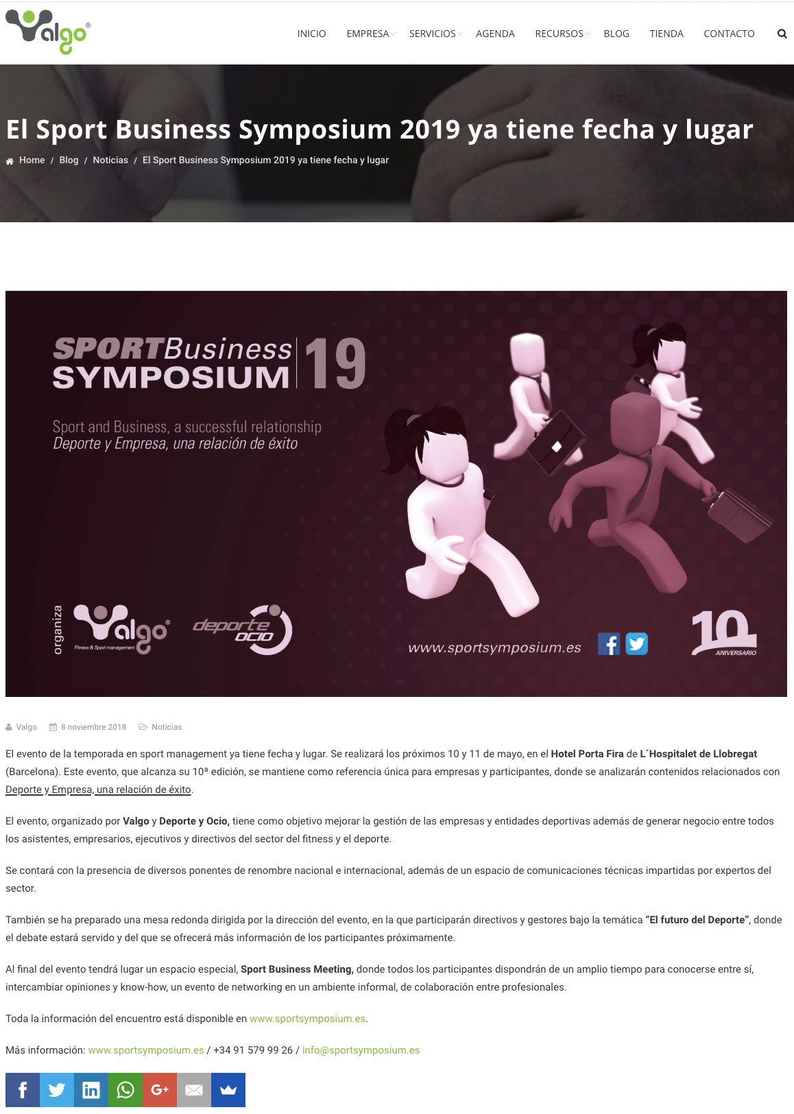 Sport Business Symposium 2019